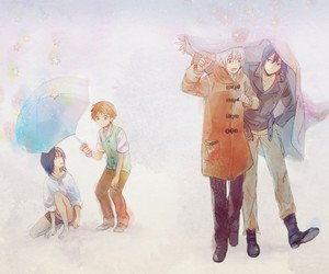 nezushi, shion, and no.6 image