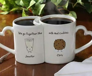 mug, cup, and coffee image