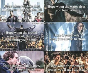 percy jackson, divergent, and book image