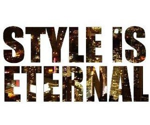 style, fashion, and eternal image