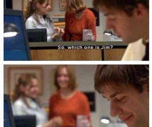 jim halpert, cute, and love image