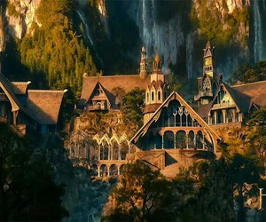 rivendell, lord of the rings, and LOTR image