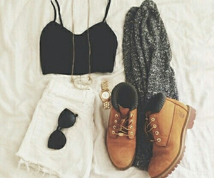 fashion, necklace, and outfits image