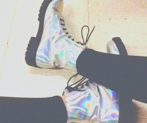 dr martens, shoes, and grunge image