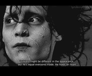 edward, quotes, and edwardscissorhands image