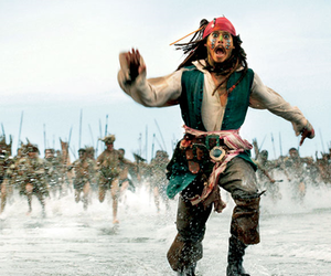 beautiful, jack sparrow, and pirates of the caribbean image