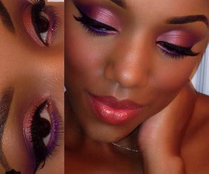 beautiful, high fashion, and lipstick image