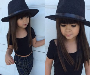 fashion, girl, and hat image