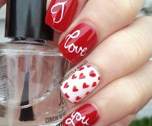 beauty, love, and nails image