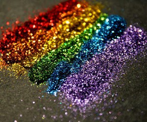glitter, rainbow, and colors image
