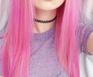 hair, haare, and pink image