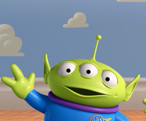 toy story, little green man, and alien• image
