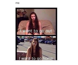 home, me, and funny image