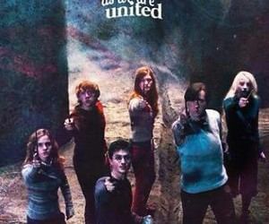 harry potter, ginny weasley, and hermione granger image