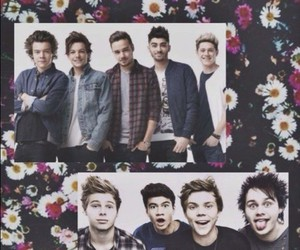 directioner, one direction, and 5sos image