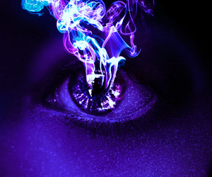 eye and purple image