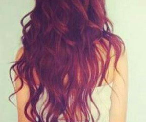 hair, cabello de color, and look image