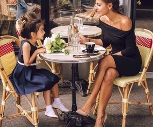 fashion, ladys, and mother and daughter image