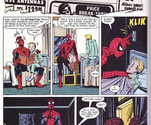 comics and spiderman image