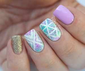 nails, cute, and color image