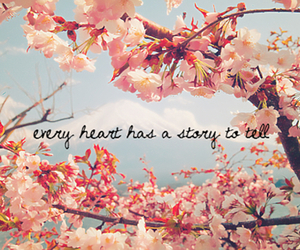 quote, heart, and story image