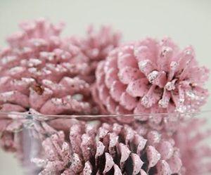 pink, christmas, and winter image