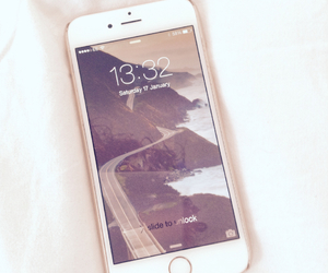 white, iphone 6, and cute image