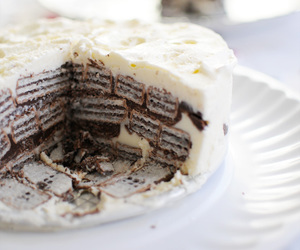 cake, food, and nutella image
