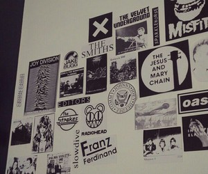 grunge, music, and posters image
