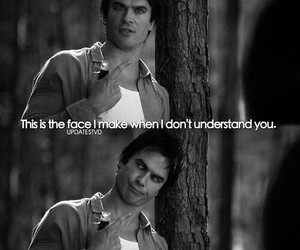 tvd, damon, and funny image