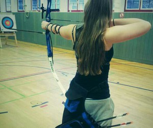 archery, arrow, and passion image
