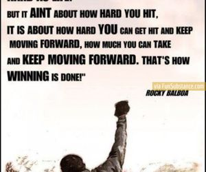 quote and rocky image