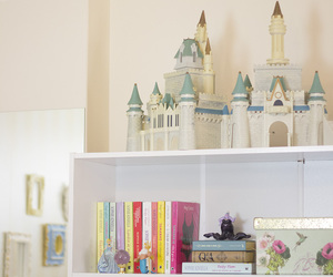 books, home office, and princess image