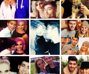 zayn malik, perrie edwards, and love image