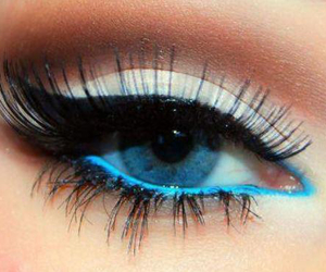blue, eyeshadow, and perfect image