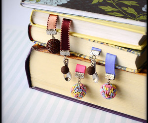 bookend, bookmark, and books image