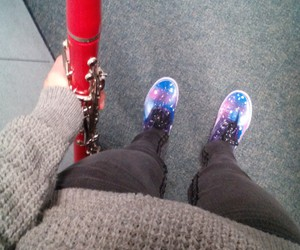 clarinet, fashion, and outfit image