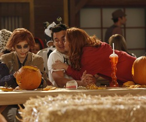 Halloween, nick, and jess image