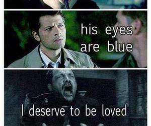 supernatural, castiel, and crowley image