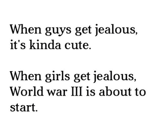 girl, jealous, and boy image