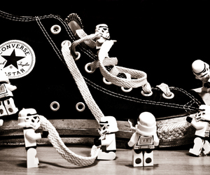 converse, star wars, and lego image