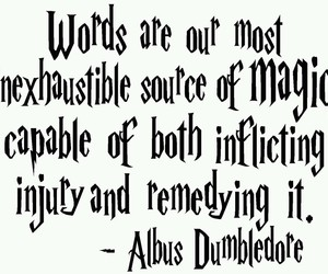 albus dumbledore, j.k rowling, and harry potter image