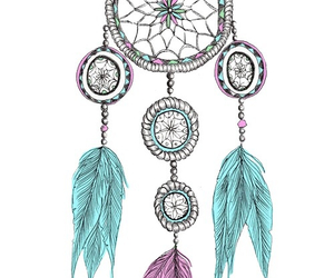 drawing, dreamcatcher, and tumblr image