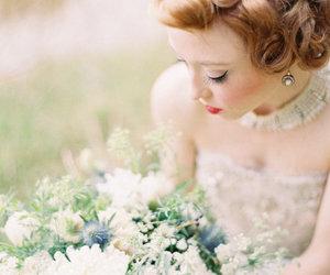 beautiful, wedding, and flowers image
