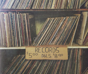 record, vintage, and photography image