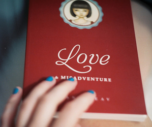 book, red, and vintage image