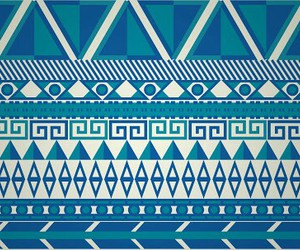 blue, wallpaper, and tribal image