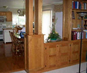 room dividers, half wall paneling, and room divider 2010 image