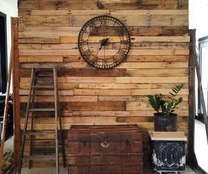Unusual DIY Pallet Room Divider Ideas With Classic Wall Clock Combine Vintage Treasure Box Feat Beautiful Green Indoor Plant of Glamorous Half Wall Room Divider Design Ideas Half Wall Divider with Column Half Wall Bookcase Room Divider Half Height Room Di