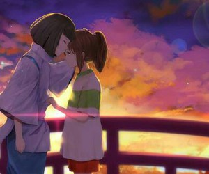 studio ghibli, love, and anime image